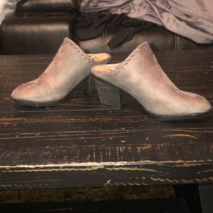 JGoods Shoes - JGoods suede Booties size 6.5 like NEW